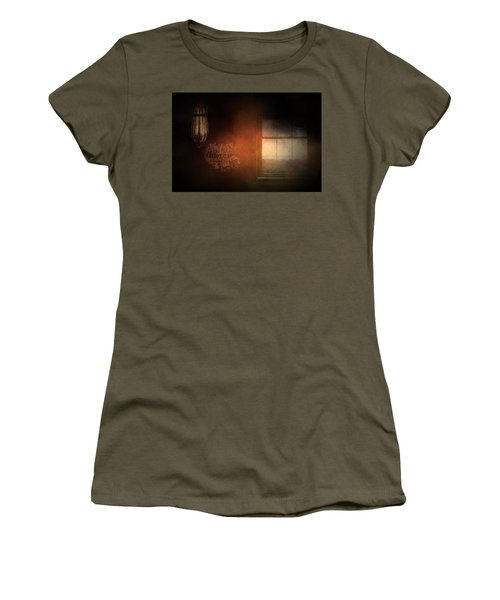 Window Art Women's T-Shirt (Athletic Fit)