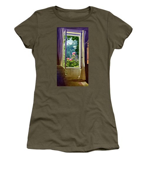 Window At Clermont Women's T-Shirt (Athletic Fit)