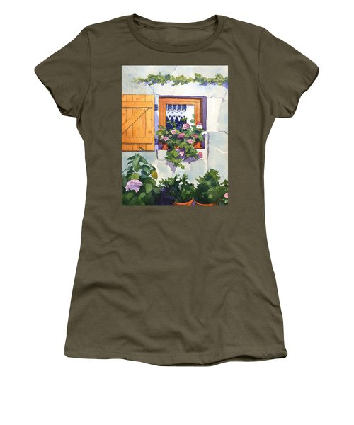 Window At St Saturnin Women's T-Shirt