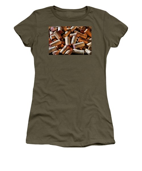 Wine Corks  Women's T-Shirt