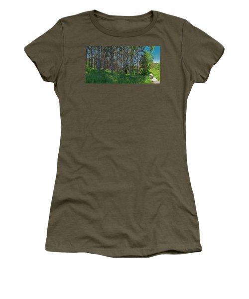 Wingate Prairie Veteran Acres Park Pines Crystal Lake Il Women's T-Shirt (Athletic Fit)