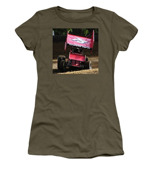 Wingin' It Into The Turn Women's T-Shirt (Athletic Fit)