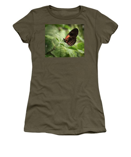 Wings Of The Tropics Butterfly Women's T-Shirt