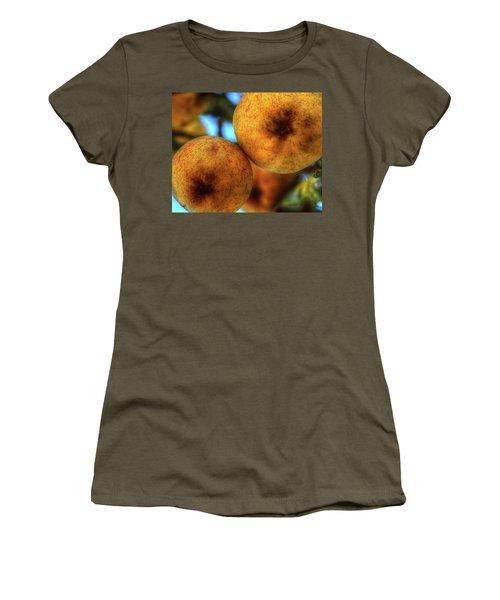 Winter Apples 2 Women's T-Shirt (Junior Cut) by Jerry Sodorff