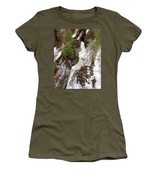 Winter Gorge Women's T-Shirt (Athletic Fit)