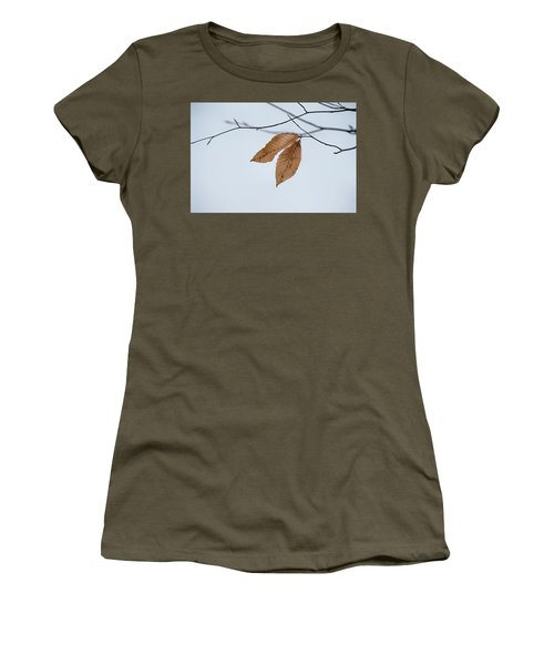 Winter Leaves Women's T-Shirt