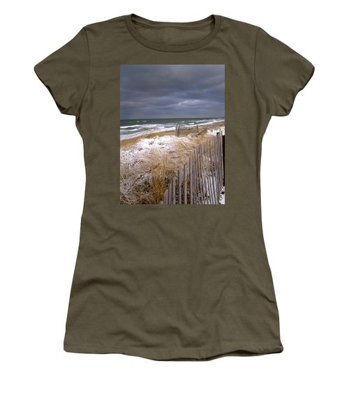 Winter On Cape Cod Women's T-Shirt