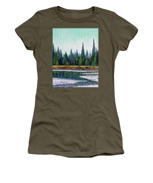 Winter Pond Women's T-Shirt