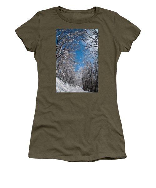 Winter Road Women's T-Shirt