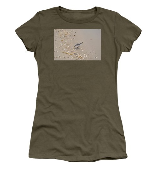 Winter Sanderling Women's T-Shirt (Athletic Fit)