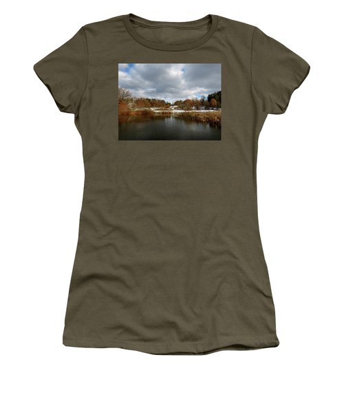 Winter Sky Women's T-Shirt (Athletic Fit)