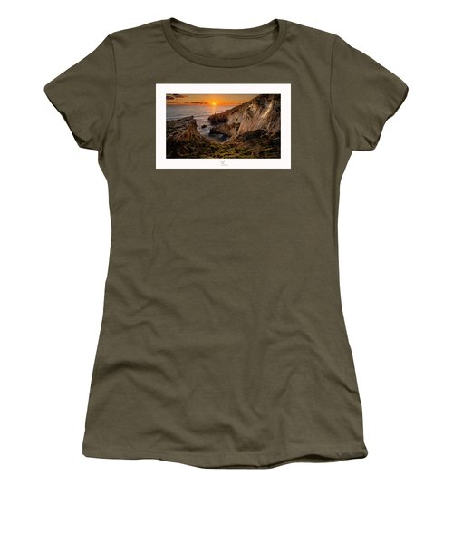 Winter's Sunset Women's T-Shirt (Athletic Fit)