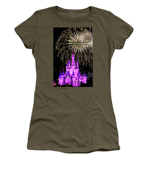 Wishes Fireworks Disney World  Women's T-Shirt