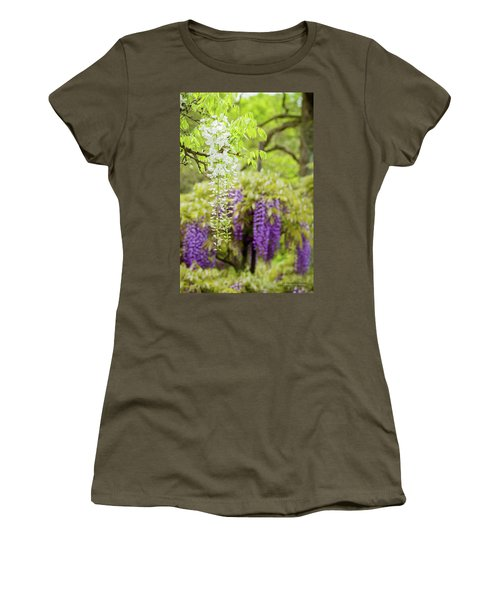 Wisteria Women's T-Shirt (Athletic Fit)
