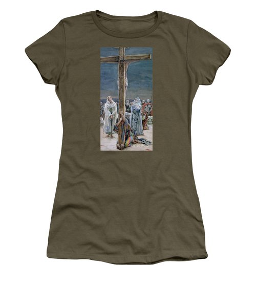 Woman Behold Thy Son Women's T-Shirt