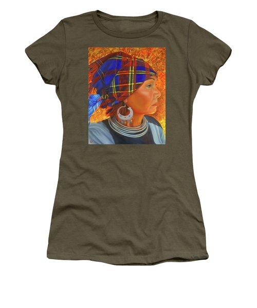 Woman In The Shadow Women's T-Shirt