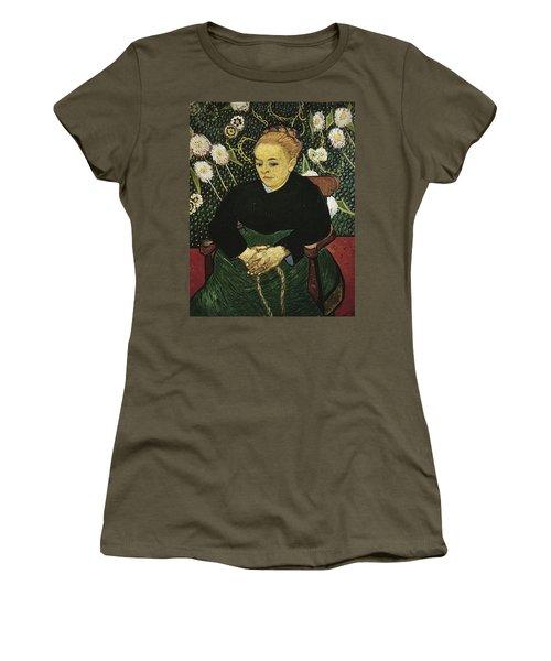 Woman Rocking A Cradle Augustine Roulin Women's T-Shirt