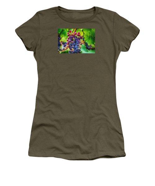 Women's T-Shirt (Junior Cut) featuring the photograph Wonderful Colors by Lynn Hopwood