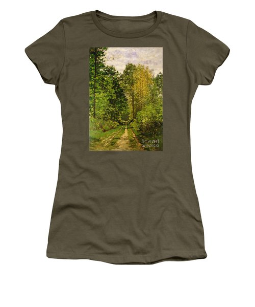 Wooded Path Women's T-Shirt