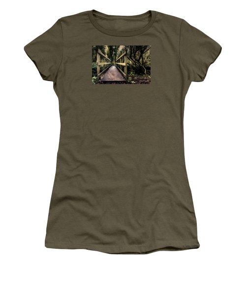 Wooden Bridge Women's T-Shirt (Athletic Fit)