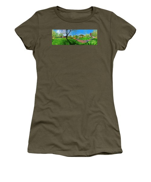 Woodstock Square Historic District 360 Spring Women's T-Shirt (Athletic Fit)