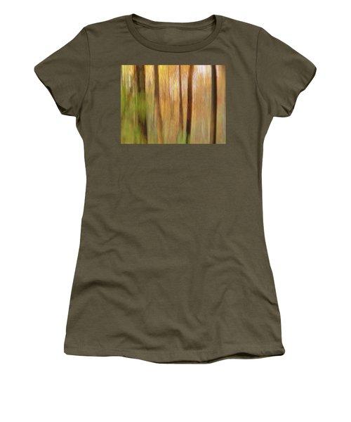 Woodsy Women's T-Shirt (Junior Cut) by Bernhart Hochleitner