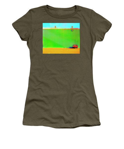 Working Late Women's T-Shirt (Junior Cut) by Jan W Faul