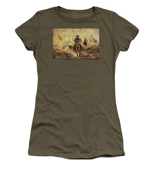 A Dusty Wyoming Wrangle Women's T-Shirt
