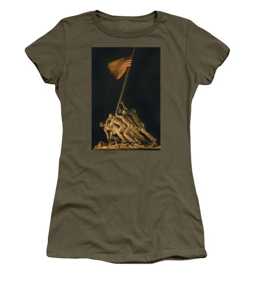 Iwo Jima Remembrance Women's T-Shirt