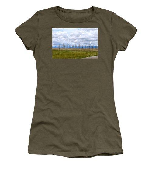 Wyoming-dwyer Junction Women's T-Shirt