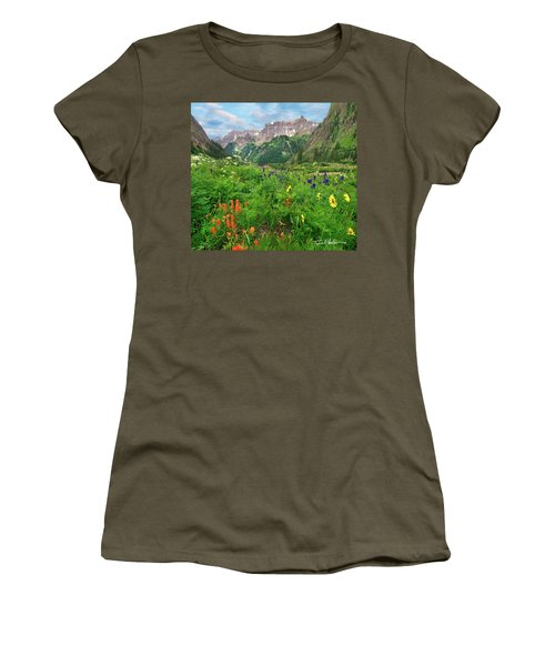 Yankee Boy Basin Women's T-Shirt (Junior Cut) by Tim Fitzharris