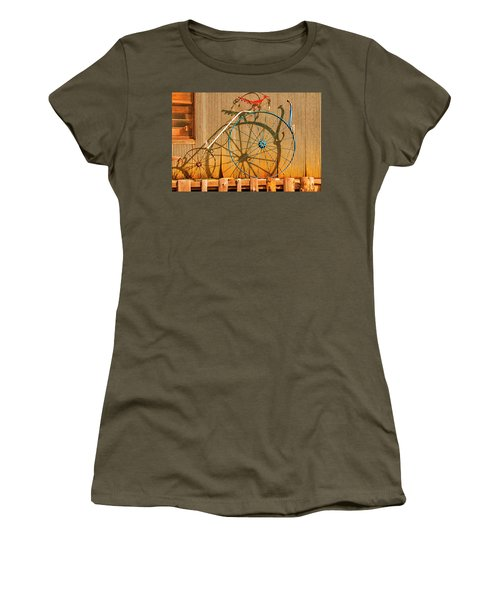Yankey Doodle Ingenuity Women's T-Shirt (Junior Cut) by Daniel Hebard