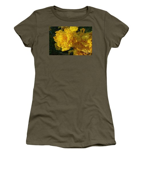 Yellow Abstraction Women's T-Shirt