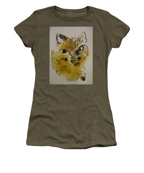 Yellow And Brown Cat Women's T-Shirt