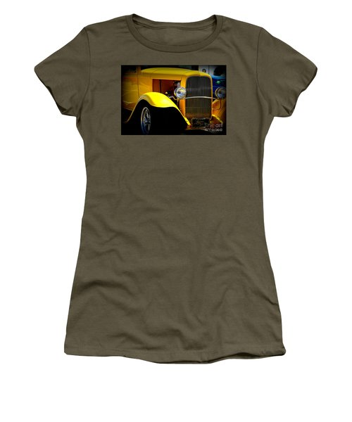 Yellow Boy Women's T-Shirt (Athletic Fit)