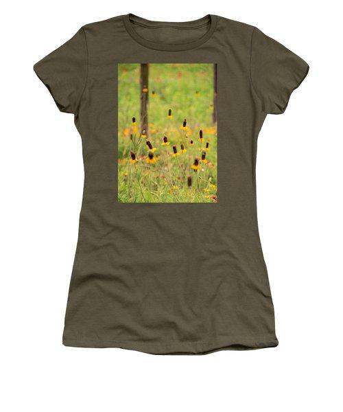 Yellow Cone Flower Women's T-Shirt