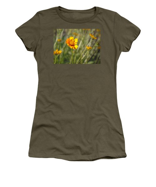 Yellow Flower Women's T-Shirt