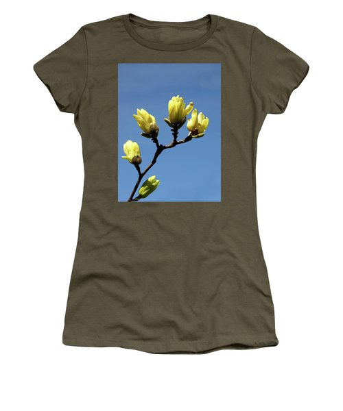 Yellow Magnolia Women's T-Shirt
