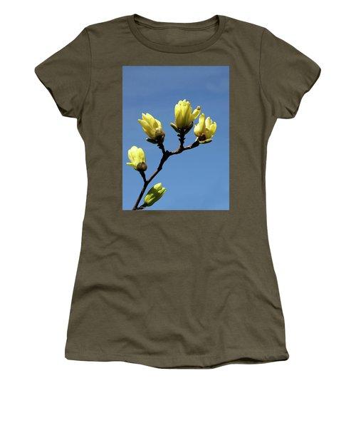 Yellow Magnolia Women's T-Shirt