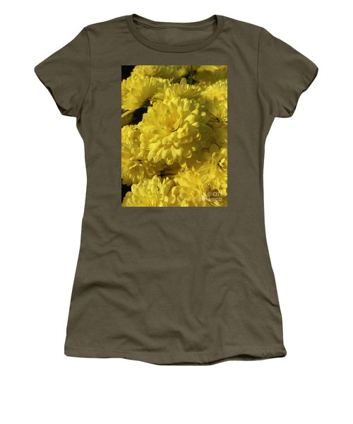 Yellow Mums Women's T-Shirt