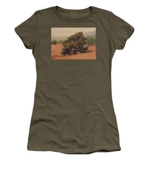 Yellow Pine Women's T-Shirt (Junior Cut) by Dan Miller
