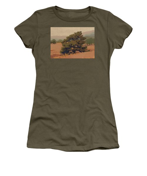 Yellow Pine Women's T-Shirt (Athletic Fit)