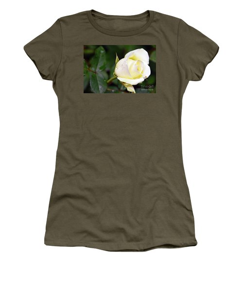 Yellow Rose 2 Women's T-Shirt (Athletic Fit)
