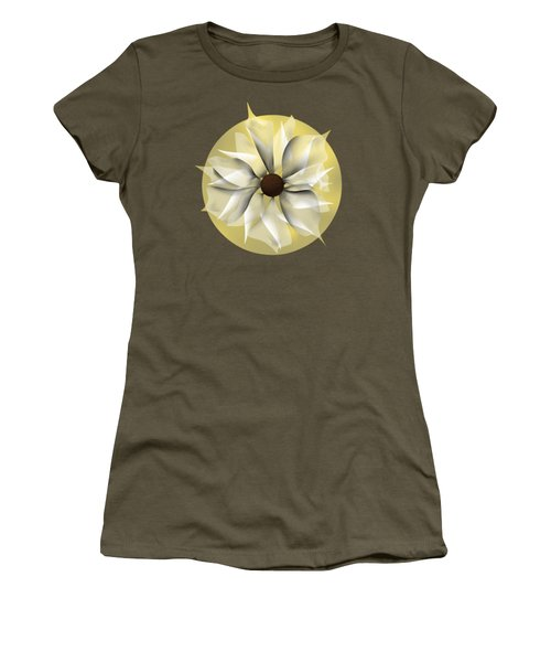 Yellow Soft Flower Women's T-Shirt