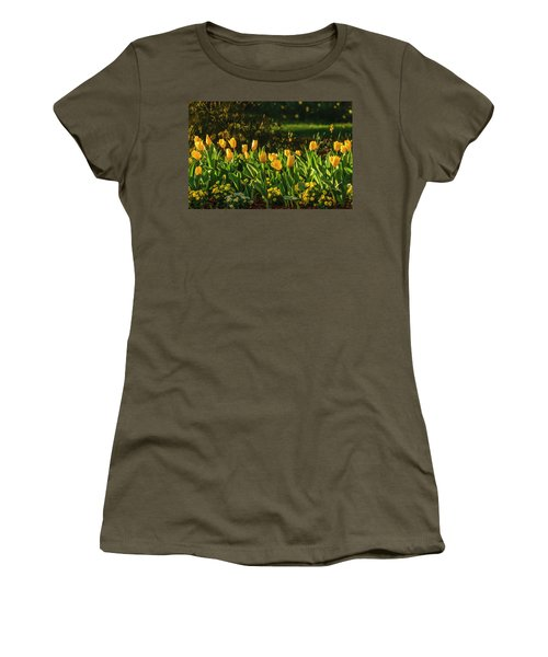 Yellow Spring Fever Women's T-Shirt