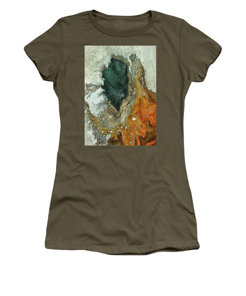 Yellowstone Landscape Women's T-Shirt (Athletic Fit)