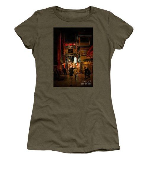 Yokohama Chinatown At Night Women's T-Shirt