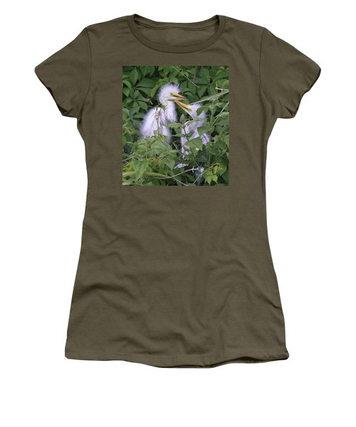 Young Egrets Women's T-Shirt (Athletic Fit)