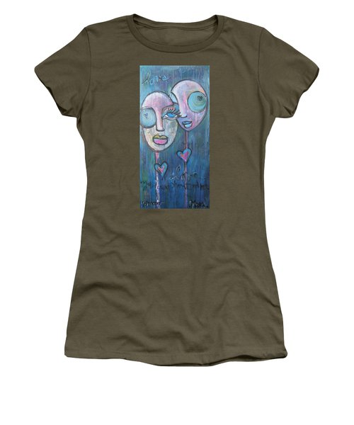 Your Haunted Heart And Me Women's T-Shirt