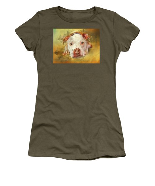 Women's T-Shirt (Athletic Fit) featuring the photograph You're My Favorite Human by Bellesouth Studio